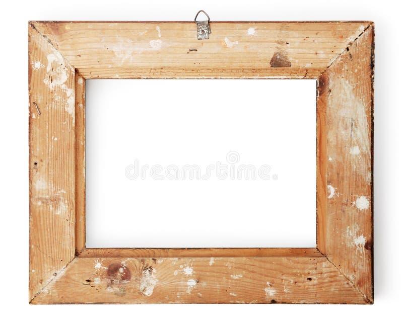 Vista posterior de un marco fotos de archivo libres de regalías