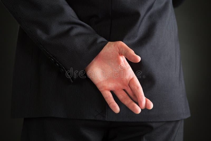 Vista posterior del hombre de negocios imagen de archivo libre de regalías