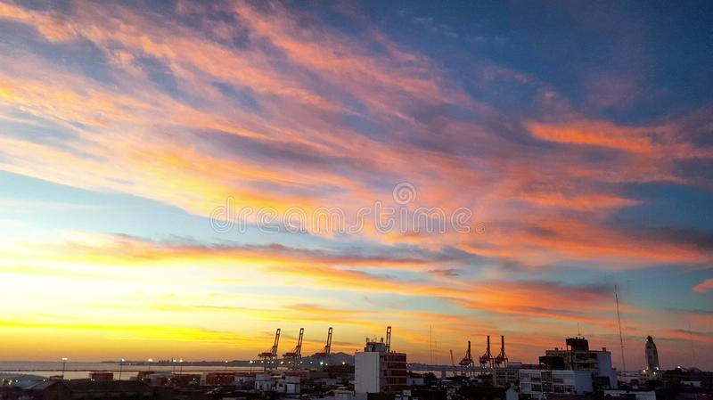 Vista puerto Al στοκ εικόνες