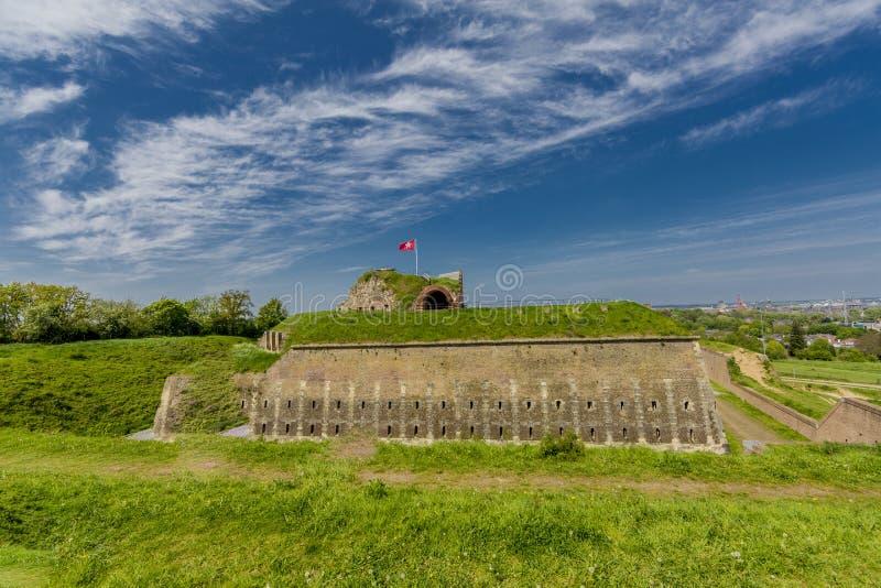 Vista que sorprende de St Pieter n del fuerte al día maravilloso foto de archivo