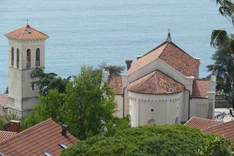 Vista a?rea de St Michael Archangel Church fotos de archivo
