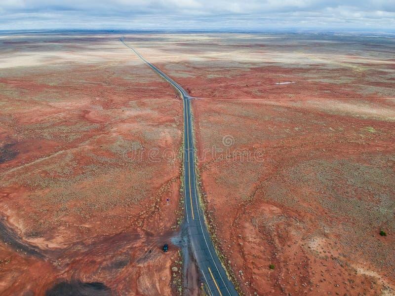 Vista a?rea do vale do monumento, o Arizona, EUA imagem de stock