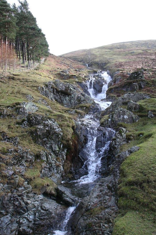 Vista scenica del distretto inglese del lago fotografia stock libera da diritti