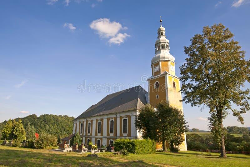 Vista scenica della chiesa immagine stock