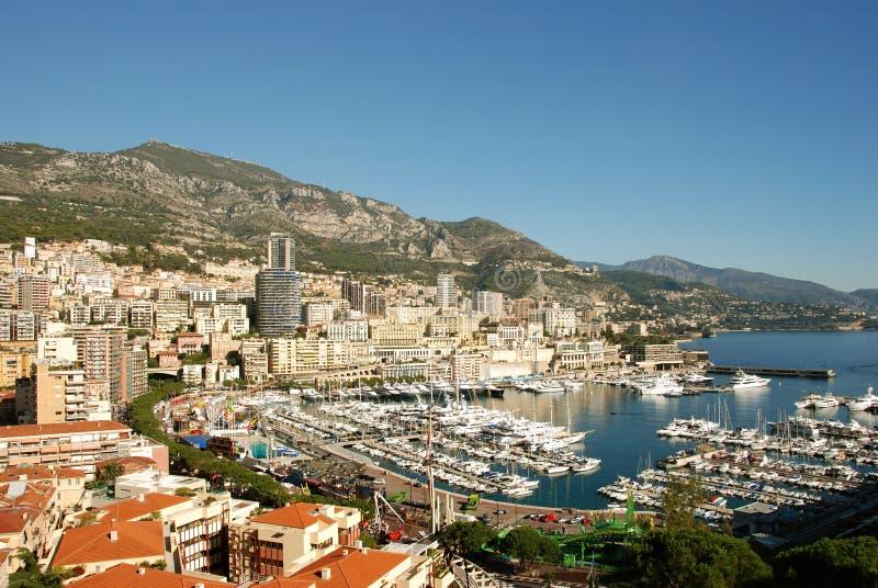 Vista scenica di Monte Carlo fotografie stock libere da diritti