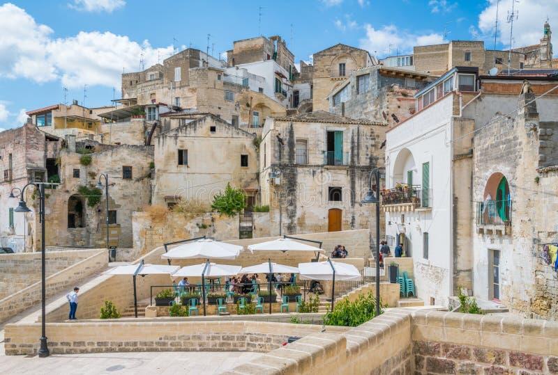 Vista scenica in Gravina in Puglia, provincia di Bari, Puglia, Italia del sud immagini stock libere da diritti