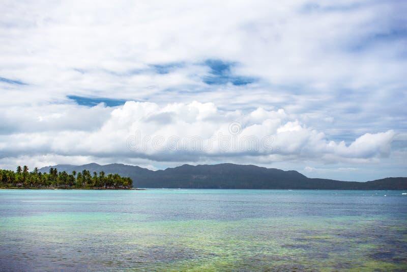 Vista scenica sopra l'Oceano Atlantico immagini stock libere da diritti