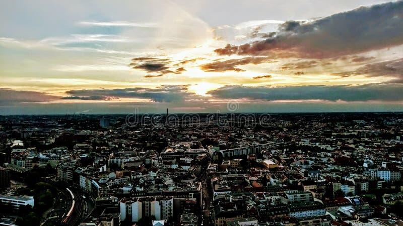Vista sobre Berlim fotos de stock
