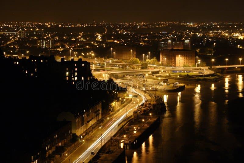 Vista sobre Bristol foto de stock