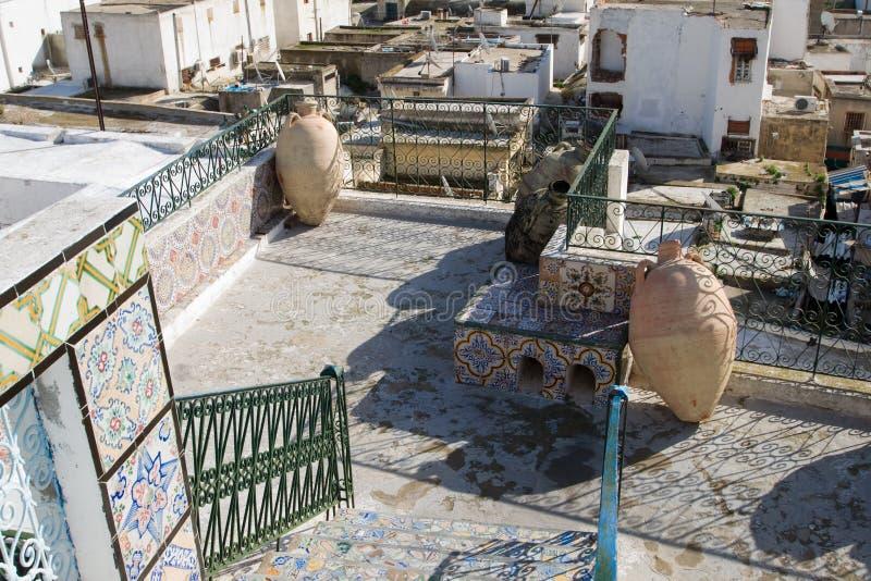 Vista sobre os telhados de Tunes fotos de stock royalty free