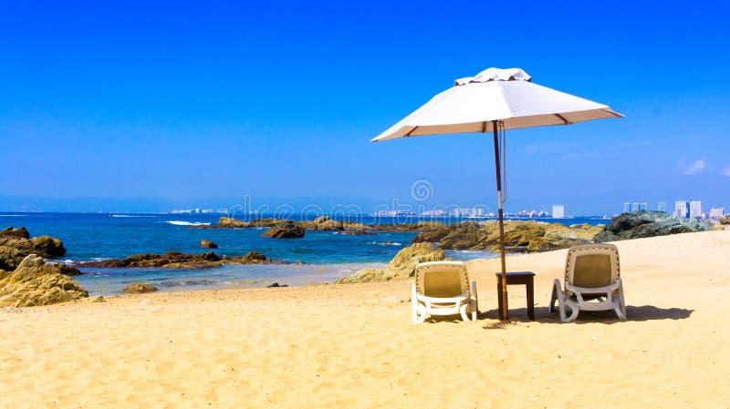 Vista sobre Puerto Vallarta fotos de stock royalty free
