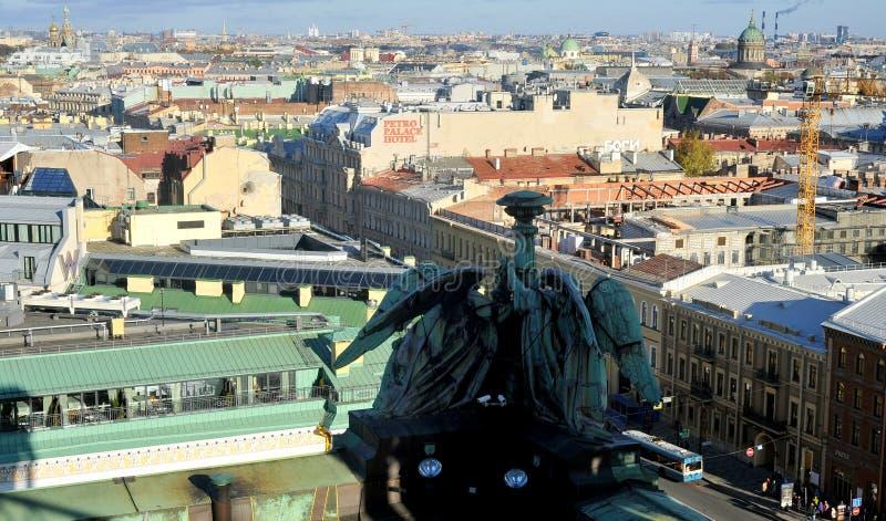 Vista sobre St Petersburg, Rússia imagem de stock royalty free