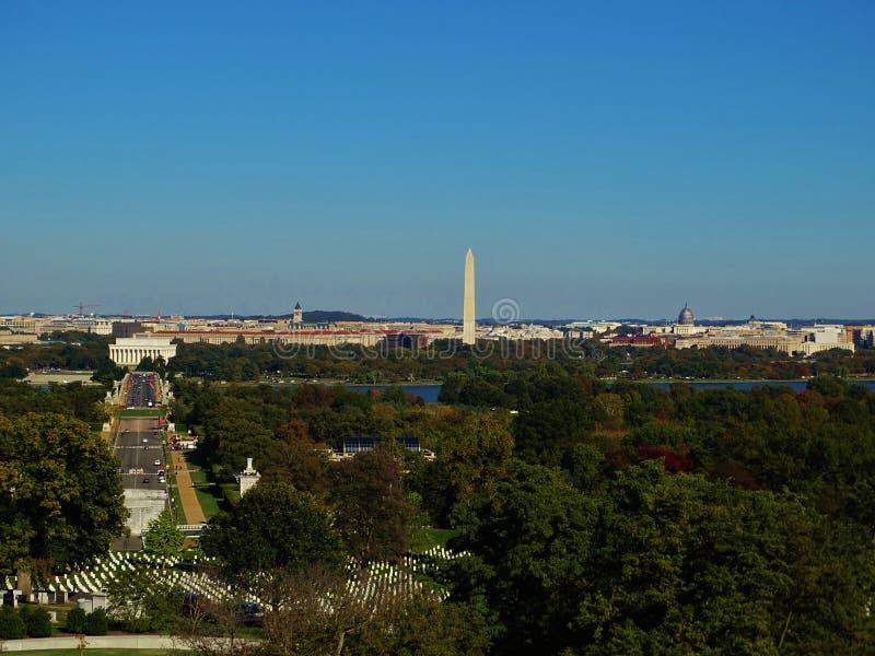 Vista sobre Washington foto de stock royalty free