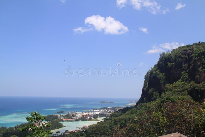 Vista sopra Eden Island fotografia stock