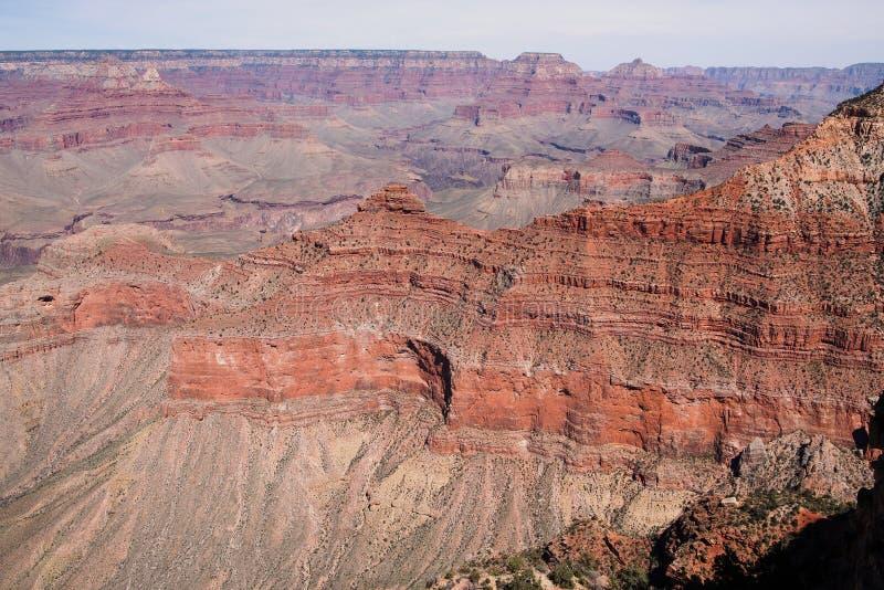 Vista strabiliante in Grand Canyon fotografie stock