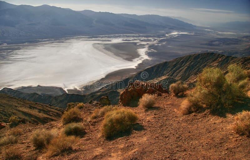 Vista su Death Valley fotografia stock libera da diritti