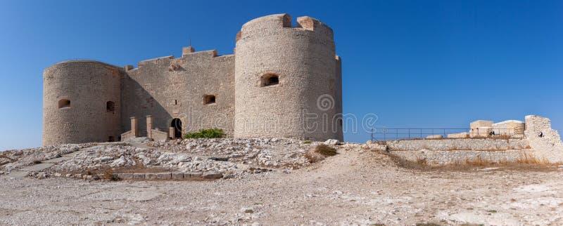 """Vista sul castello d """"se, la Francia fotografie stock libere da diritti"""