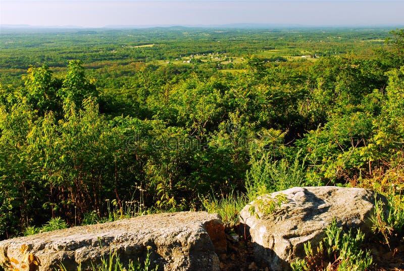 Vista sul Catskills fotografia stock
