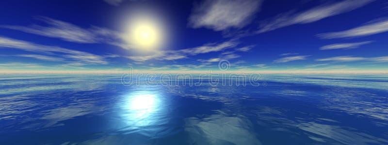 Vista sul mare immagini stock