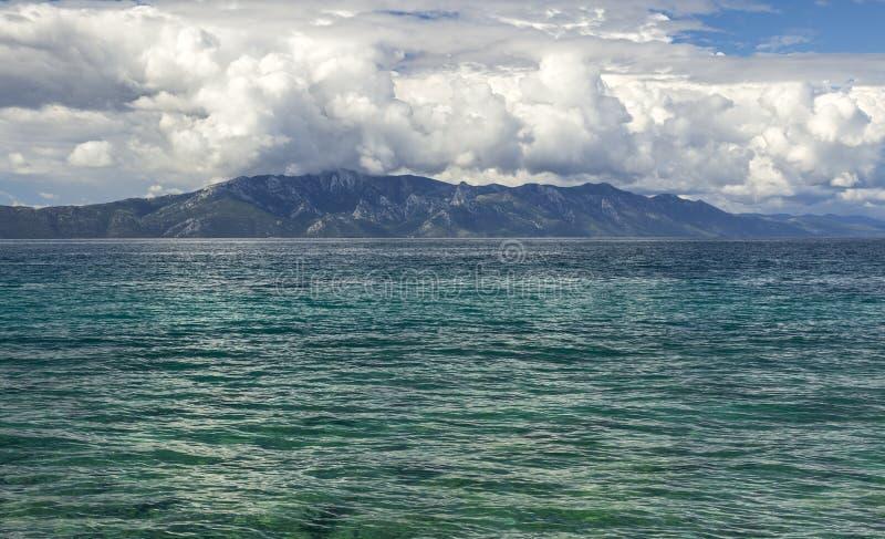 Vista sul mare della Croazia immagine stock libera da diritti
