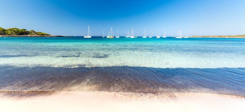 Vista sul mare di Menorca immagine stock libera da diritti