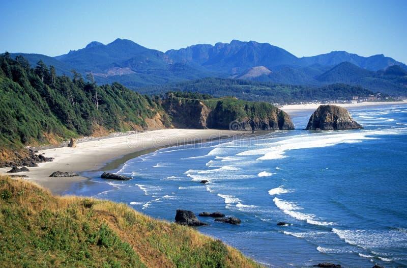 Vista sul mare nell'Oregon immagini stock