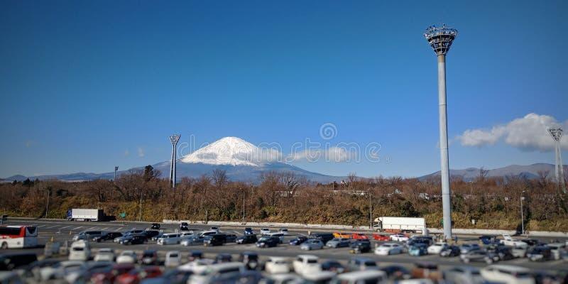 Vista sul monte Fuji immagini stock
