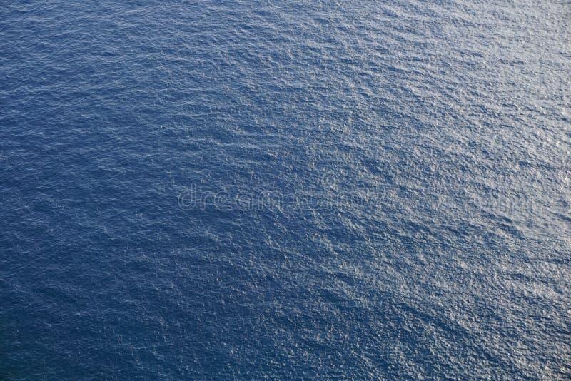 Vista sull'acqua di mare fotografia stock