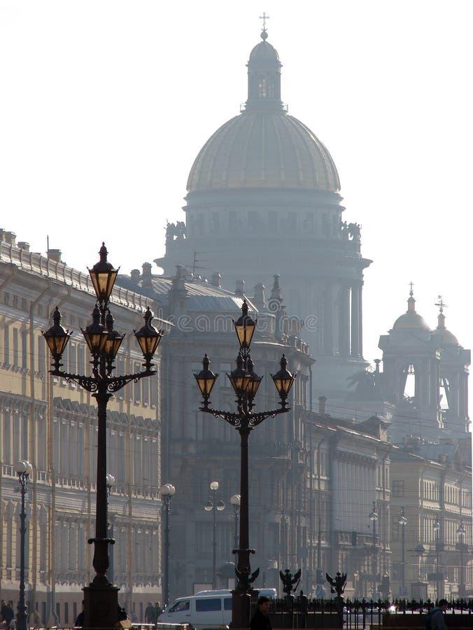 Vista sulla cattedrale fotografie stock libere da diritti
