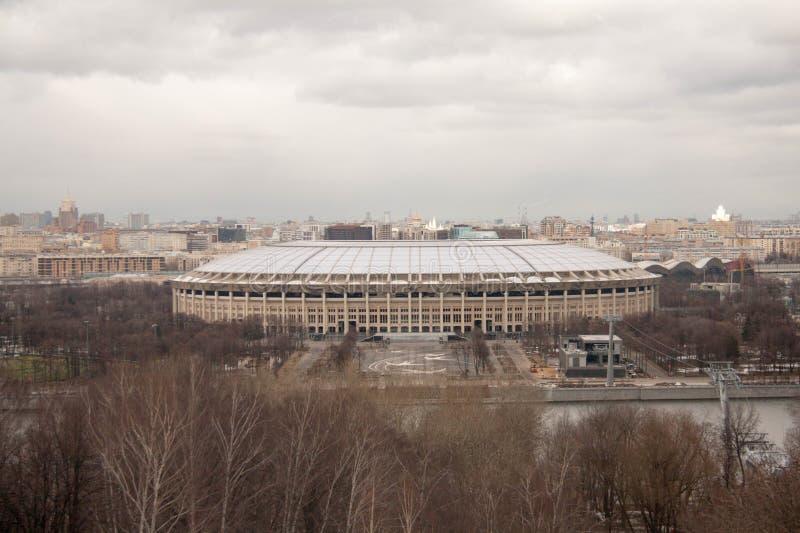 Vista sulle viste di Mosca fotografia stock