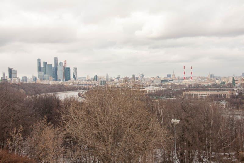 Vista sulle viste di Mosca immagini stock