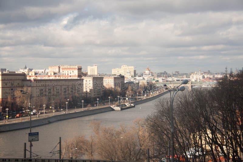 Vista sulle viste di Mosca immagini stock libere da diritti