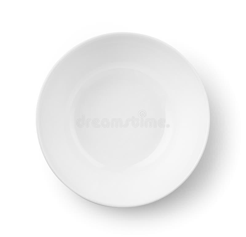 Download Vista Superior Da Bacia Vazia Branca Imagem de Stock - Imagem de círculo, bacia: 107527399