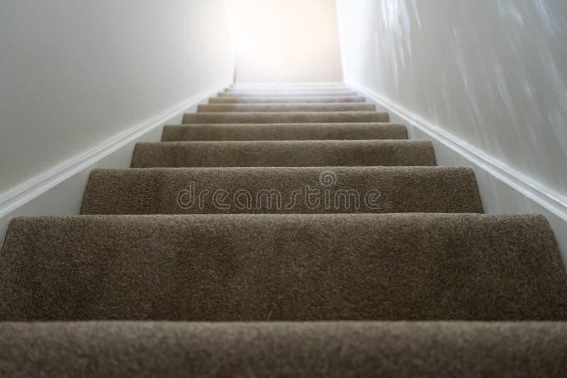 Vista superior de la escalera foto de archivo libre de regalías