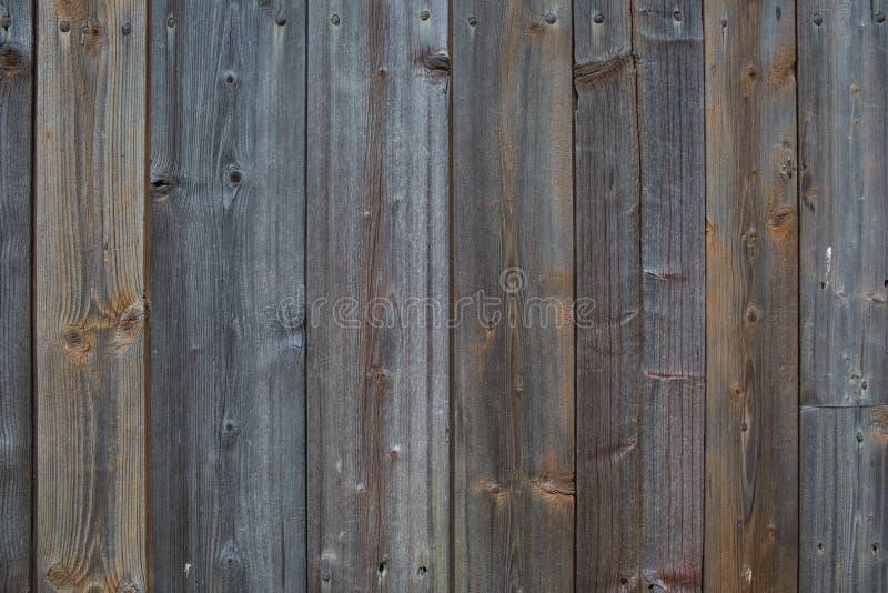 Vista superior de la parte posterior de madera rústica natural azul del extracto de la textura de Brown fotos de archivo
