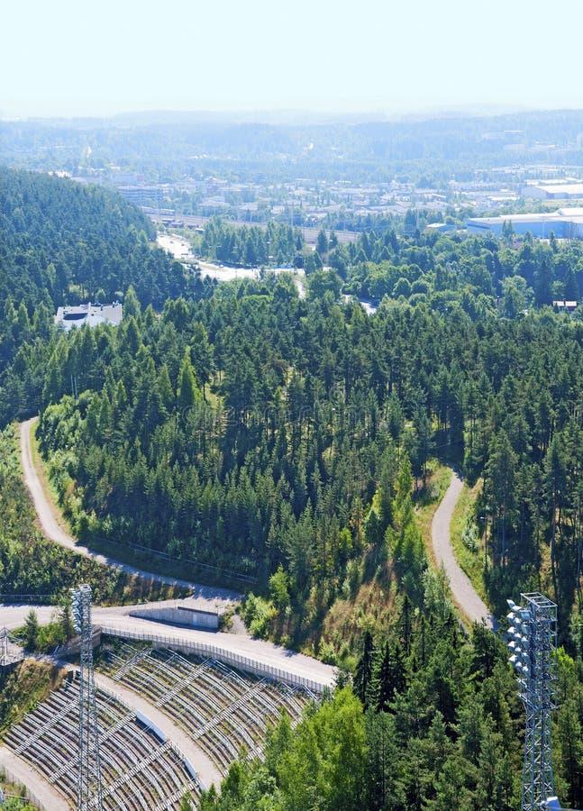 Vista superior de Lahti finland fotos de stock royalty free