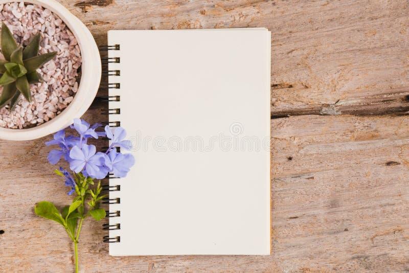 vista superior de un libro del bosquejo fotografía de archivo libre de regalías