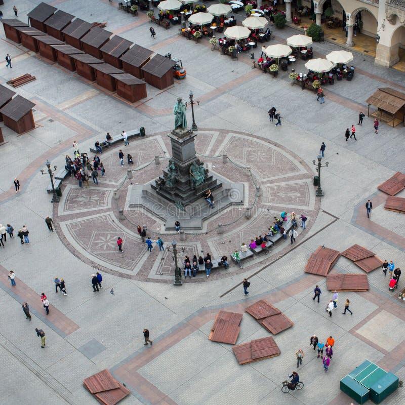 Vista superior del edificios históricos en el Sity viejo imágenes de archivo libres de regalías