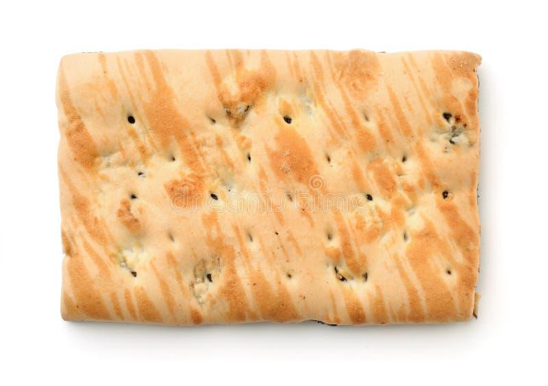 Vista superiore del biscotto di marmo del grano immagine stock libera da diritti