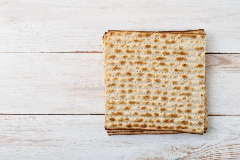 Vista superiore del pane azzimo del flatbread immagini stock libere da diritti