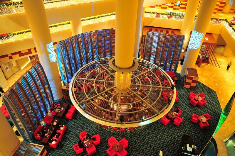 Vista superiore del salotto di VIP fotografie stock libere da diritti