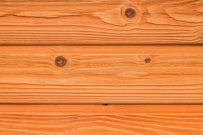 Vista superiore del vecchio della tavola fondo di legno arancio di struttura immagini stock libere da diritti