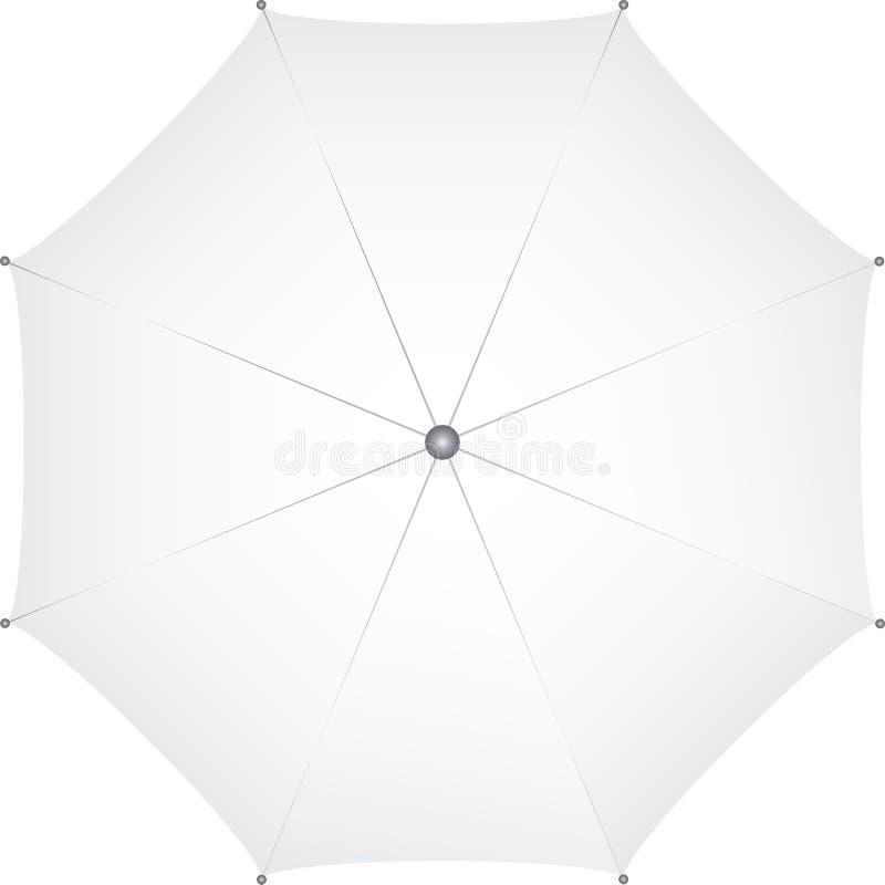 Vista superiore dell'ombrello fotografie stock
