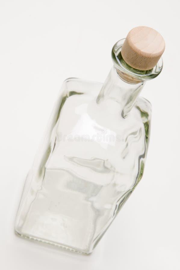 Vista superiore della bottiglia immagini stock