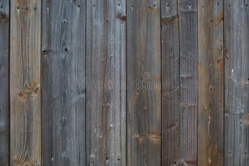 Vista superiore della parte posteriore di legno rustica naturale blu dell'estratto di struttura di Brown fotografie stock