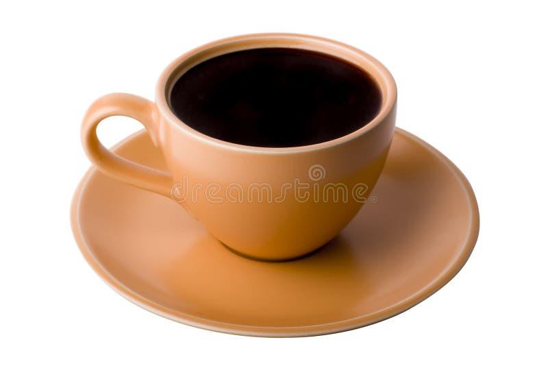 Vista superiore della tazza di Coffe immagini stock libere da diritti