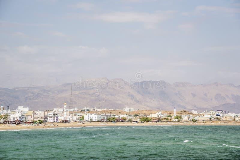 Vista a Sur en Omán foto de archivo libre de regalías