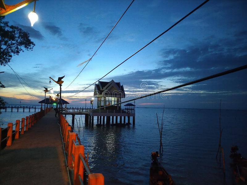 Vista Talay, Tailândia imagens de stock