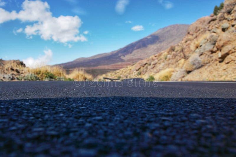 vista Tenerife della via immagini stock