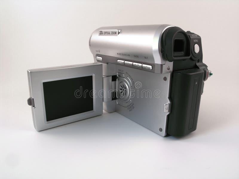 Vista Trasera De Un Camcoder Compacto Del Consumidor Fotos de archivo libres de regalías